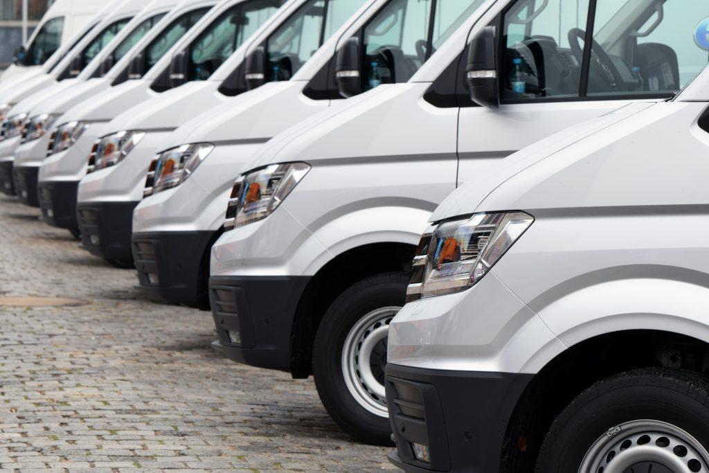 electric van fleet