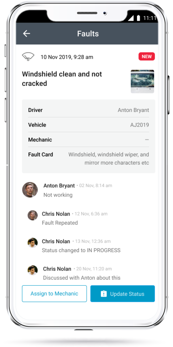 Whip Around Launches Feature to Manage Fleet Faults on the Go
