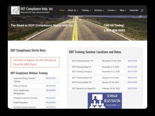 DOT Compliance online training