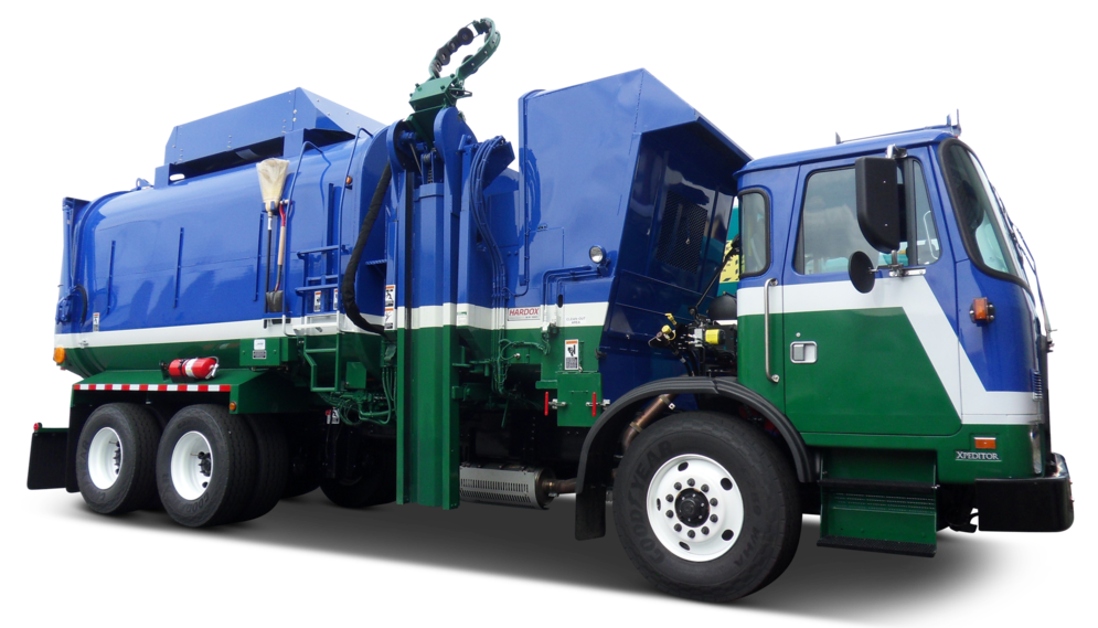 Amrep's HX450 Automated Side Loader
